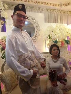 HIBURAN : Aril AF7 Sah Bergelar Suami